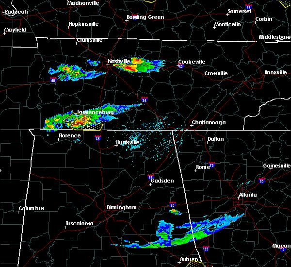 Radar Image for Severe Thunderstorms near Lawrenceburg, TN at 4/8/2020 5:30 PM CDT