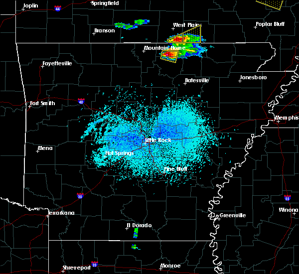 Radar Image for Severe Thunderstorms near Oxford, AR at 4/8/2020 5:38 PM CDT