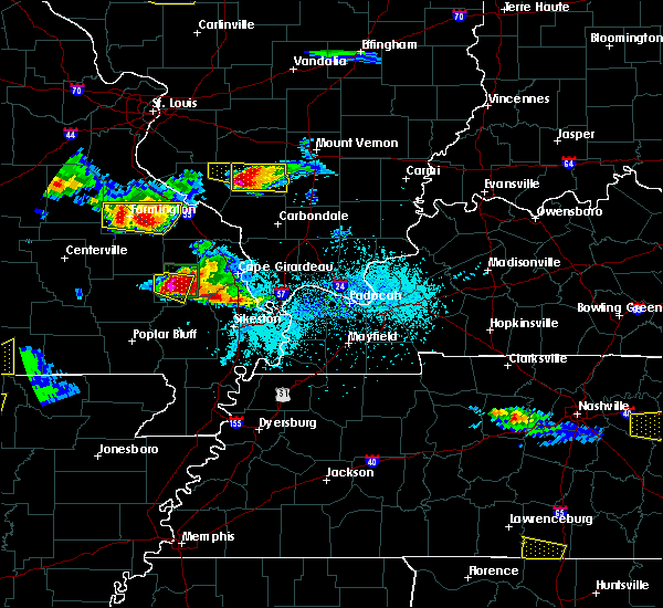 Radar Image for Severe Thunderstorms near Carbondale, IL at 4/8/2020 6:02 PM CDT
