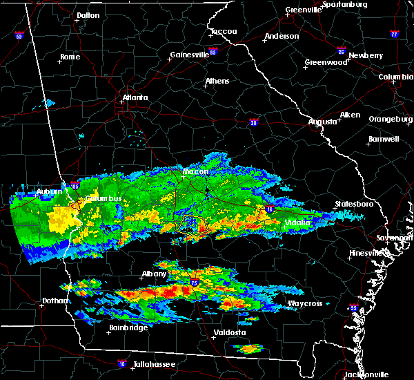 Radar Image for Severe Thunderstorms near Pineview, GA at 4/8/2020 7:30 PM EDT