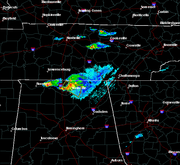 Radar Image for Severe Thunderstorms near Athens, AL at 4/8/2020 6:42 PM CDT