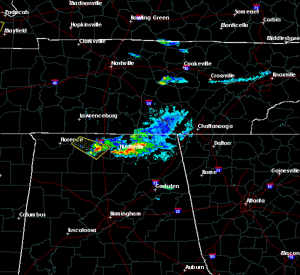 Radar Image for Severe Thunderstorms near Athens, AL at 4/8/2020 7:13 PM CDT