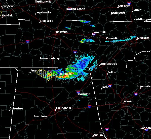 Radar Image for Severe Thunderstorms near Huntsville, AL at 4/8/2020 7:13 PM CDT