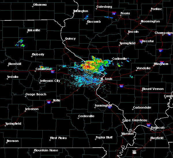 Radar Image for Severe Thunderstorms near Grafton, IL at 6/25/2015 5:47 PM CDT