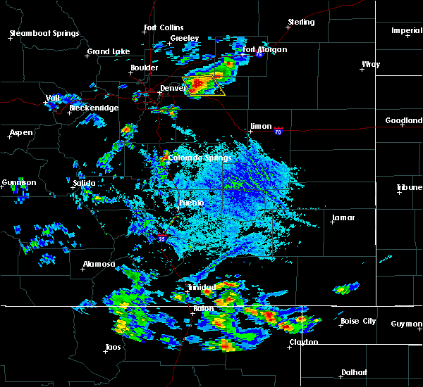 Radar Image for Severe Thunderstorms near Ellicott, CO at 6/25/2015 4:55 PM MDT