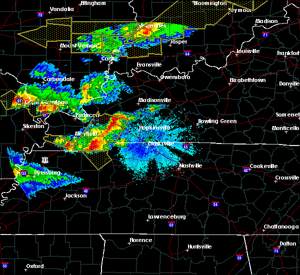 Radar Image for Severe Thunderstorms near Puryear, TN at 4/8/2020 8:15 PM CDT