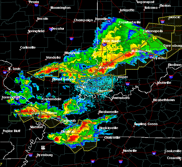 Radar Image for Severe Thunderstorms near Browns, IL at 4/8/2020 8:20 PM CDT