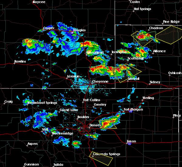 Radar Image for Severe Thunderstorms near Harrisburg, NE at 6/25/2015 4:54 PM MDT