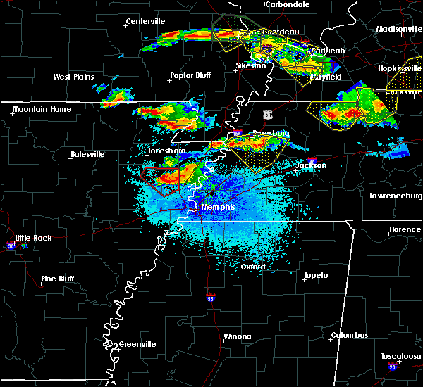 Radar Image for Severe Thunderstorms near Turrell, AR at 4/8/2020 9:03 PM CDT