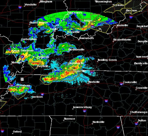 Radar Image for Severe Thunderstorms near Adairville, KY at 4/8/2020 9:08 PM CDT