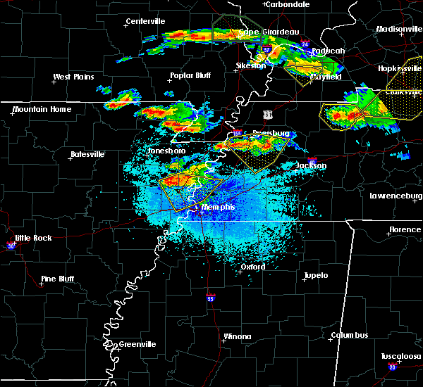 Radar Image for Severe Thunderstorms near Turrell, AR at 4/8/2020 9:22 PM CDT