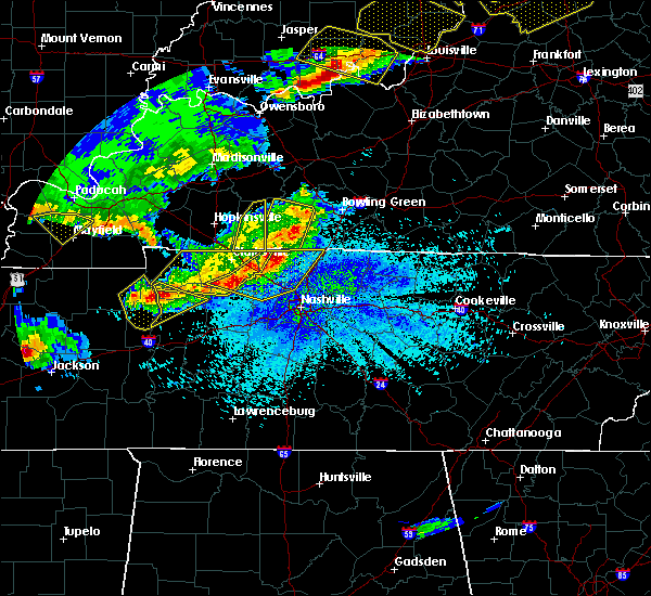 Radar Image for Severe Thunderstorms near Bowling Green, KY at 4/8/2020 9:31 PM CDT
