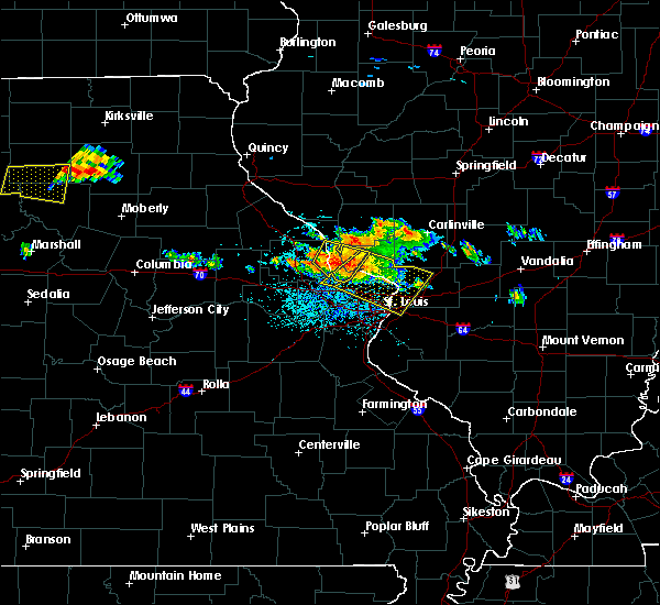 Radar Image for Severe Thunderstorms near Grafton, IL at 6/25/2015 6:00 PM CDT