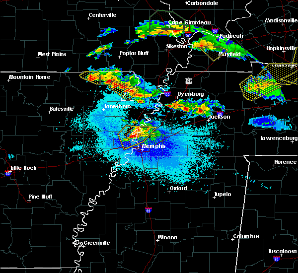 Radar Image for Severe Thunderstorms near Turrell, AR at 4/8/2020 9:35 PM CDT