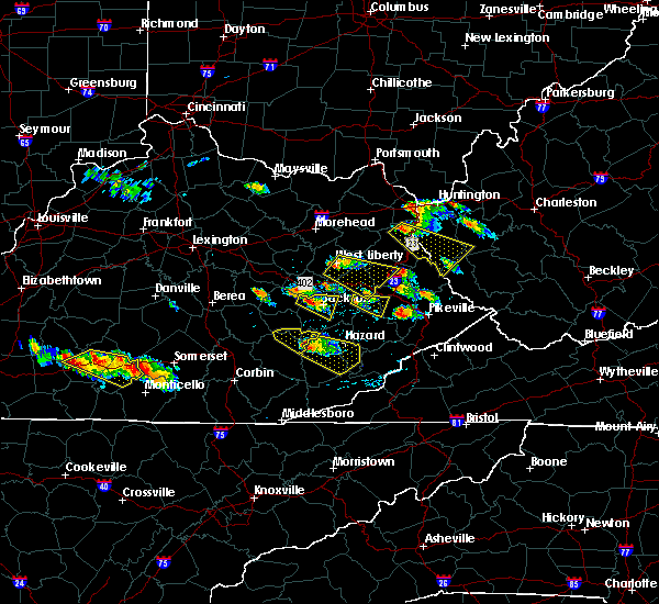 Radar Image for Severe Thunderstorms near Paintsville, KY at 6/25/2015 7:04 PM EDT