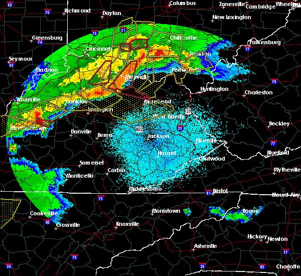 Radar Image for Severe Thunderstorms near Elizaville, KY at 4/8/2020 11:31 PM EDT
