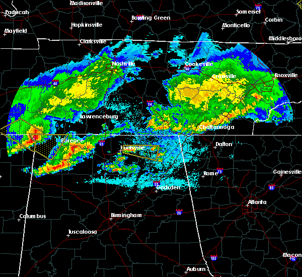 Radar Image for Severe Thunderstorms near Gurley, AL at 4/9/2020 1:00 AM CDT