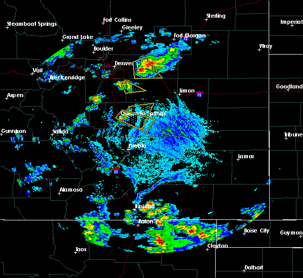 Radar Image for Severe Thunderstorms near Ellicott, CO at 6/25/2015 5:17 PM MDT