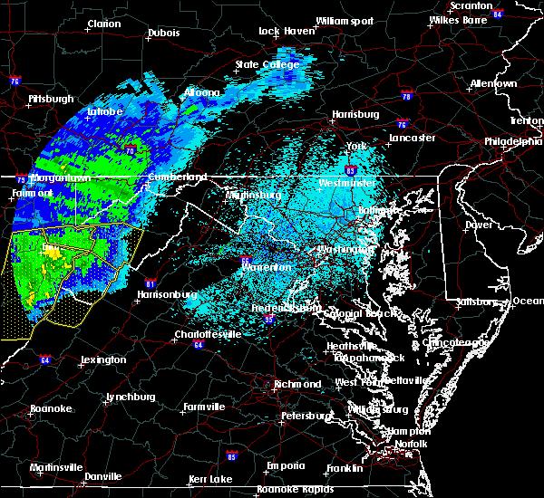 Radar Image for Severe Thunderstorms near Petersburg, WV at 4/9/2020 2:55 AM EDT