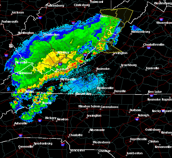 Radar Image for Severe Thunderstorms near Dooms, VA at 4/9/2020 3:17 AM EDT