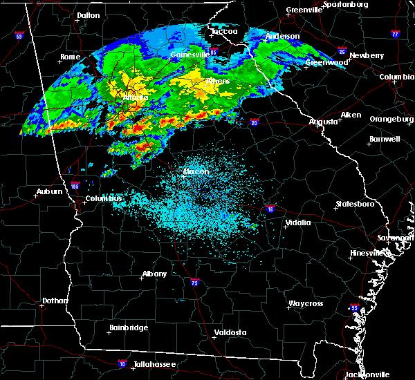 Radar Image for Severe Thunderstorms near Gray, GA at 4/9/2020 5:43 AM EDT