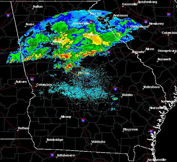 Radar Image for Severe Thunderstorms near Gray, GA at 4/9/2020 5:53 AM EDT