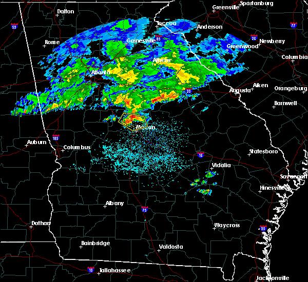 Radar Image for Severe Thunderstorms near Gray, GA at 4/9/2020 6:03 AM EDT