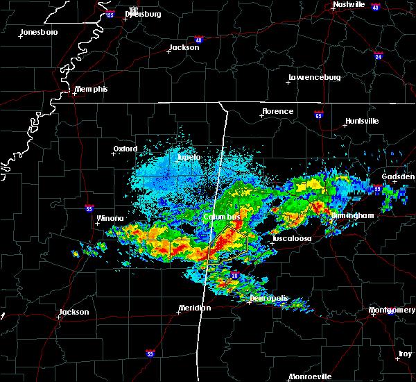 Radar Image for Severe Thunderstorms near Aliceville, AL at 4/9/2020 5:27 AM CDT