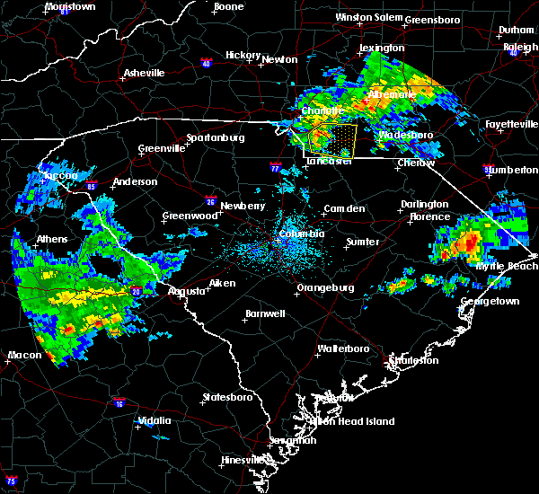 Radar Image for Severe Thunderstorms near Wingate, NC at 4/9/2020 6:29 AM EDT