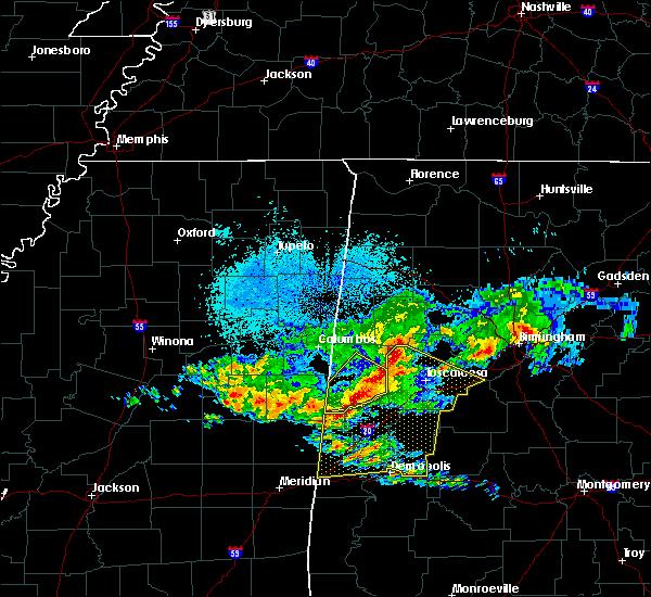 Radar Image for Severe Thunderstorms near Aliceville, AL at 4/9/2020 5:41 AM CDT