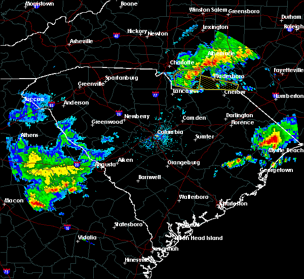 Radar Image for Severe Thunderstorms near Cordova, NC at 4/9/2020 6:41 AM EDT