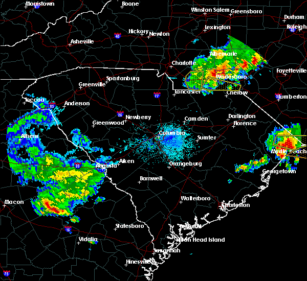 Radar Image for Severe Thunderstorms near Cordova, NC at 4/9/2020 6:56 AM EDT