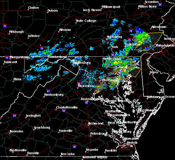 Radar Image for Severe Thunderstorms near Fairwood, MD at 4/9/2020 12:37 PM EDT