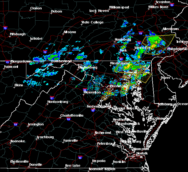 Radar Image for Severe Thunderstorms near Queen Anne, MD at 4/9/2020 12:44 PM EDT