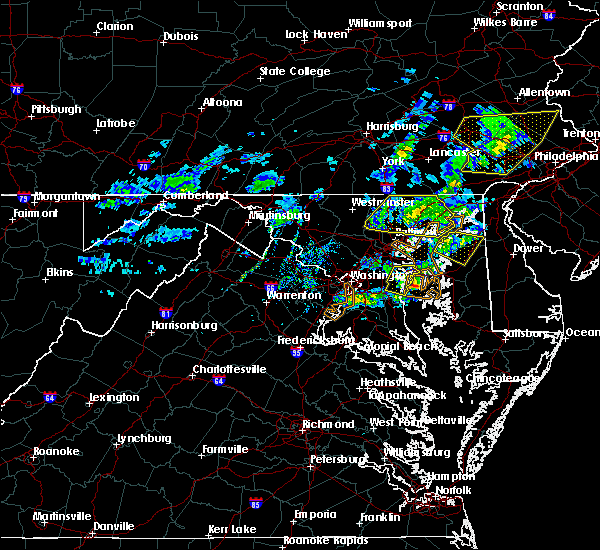 Radar Image for Severe Thunderstorms near Annapolis, MD at 4/9/2020 12:51 PM EDT