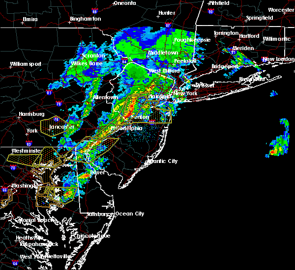 Radar Image for Severe Thunderstorms near Halfway House, PA at 4/9/2020 1:29 PM EDT