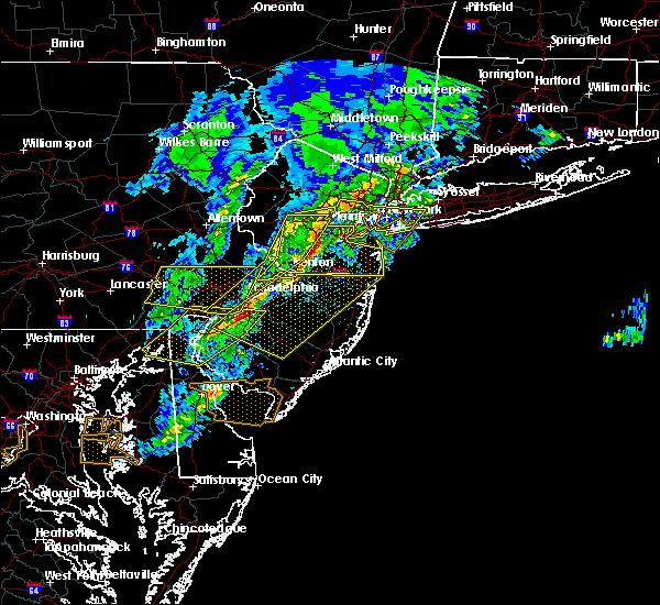 Radar Image for Severe Thunderstorms near Turnersville, NJ at 4/9/2020 1:42 PM EDT
