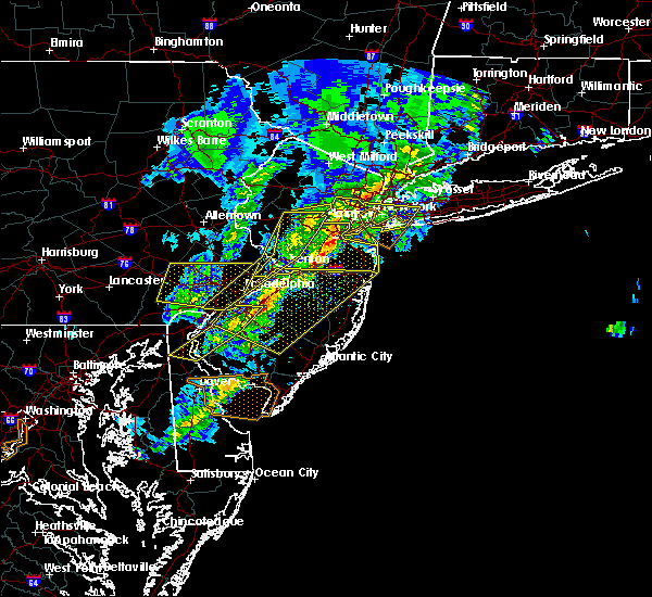 Radar Image for Severe Thunderstorms near Hightstown, NJ at 4/9/2020 1:50 PM EDT