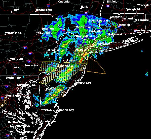Radar Image for Severe Thunderstorms near Roselle Park, NJ at 4/9/2020 2:03 PM EDT