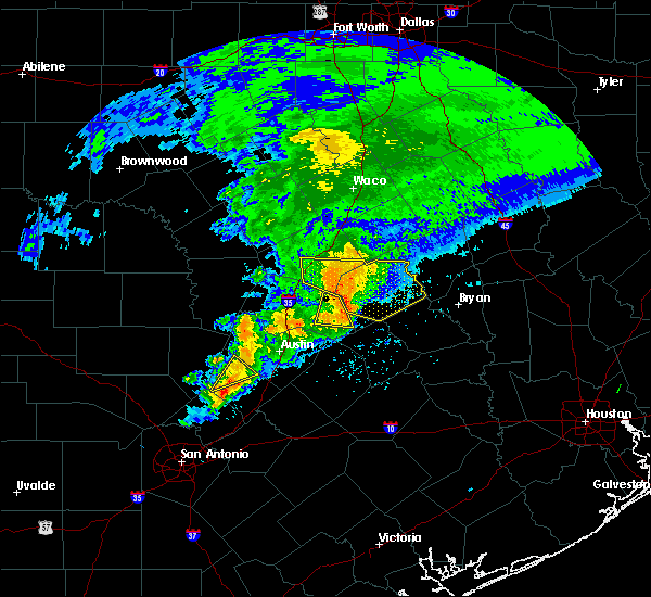 Radar Image for Severe Thunderstorms near Rockdale, TX at 4/9/2020 3:25 PM CDT