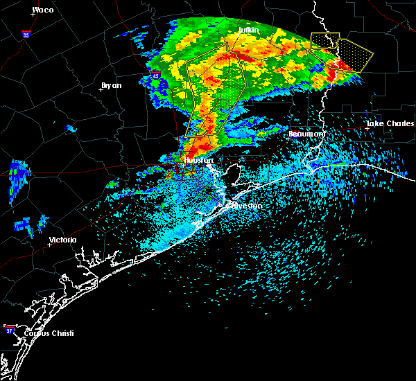 Radar Image for Severe Thunderstorms near Roman Forest, TX at 4/9/2020 6:26 PM CDT