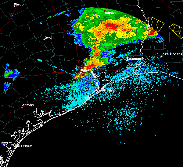 Radar Image for Severe Thunderstorms near Cloverleaf, TX at 4/9/2020 6:38 PM CDT