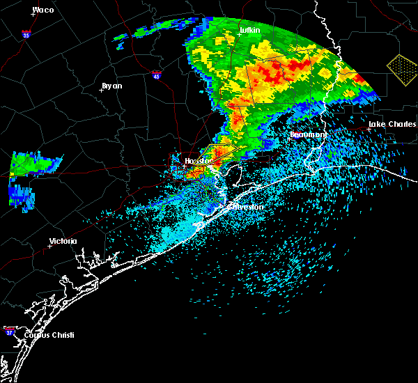 Radar Image for Severe Thunderstorms near Cloverleaf, TX at 4/9/2020 6:56 PM CDT