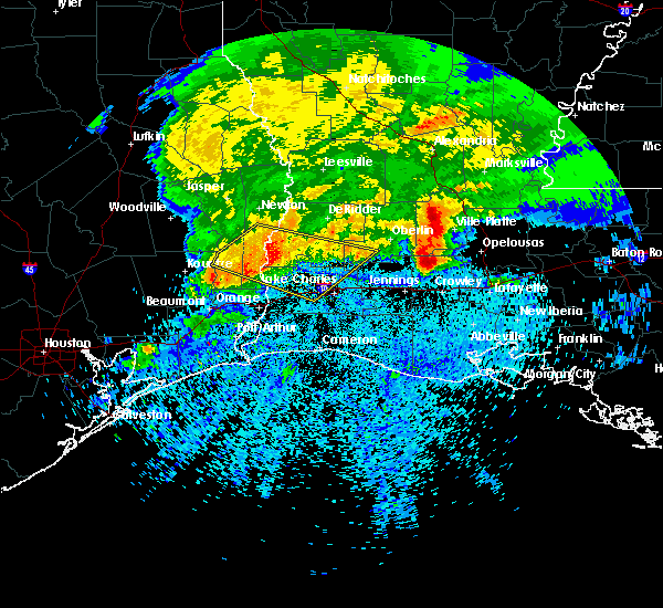 Radar Image for Severe Thunderstorms near Branch, LA at 4/9/2020 7:50 PM CDT