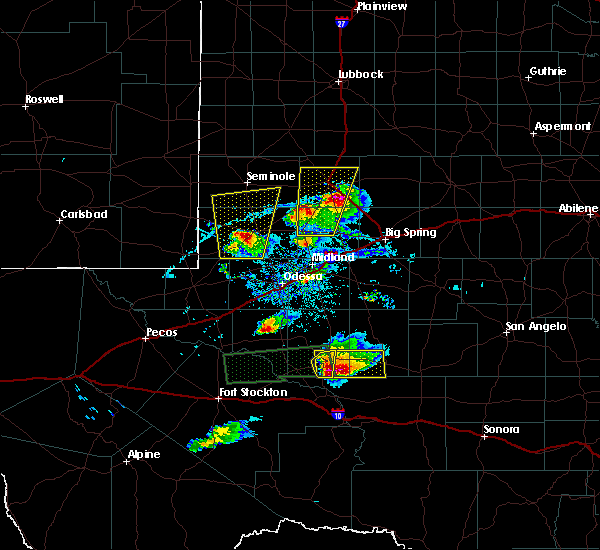 Radar Image for Severe Thunderstorms near Los Ybanez, TX at 4/10/2020 7:58 PM CDT