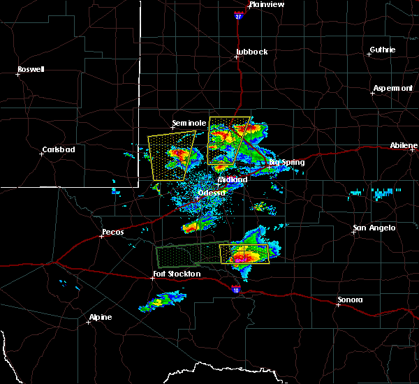 Radar Image for Severe Thunderstorms near Los Ybanez, TX at 4/10/2020 8:17 PM CDT