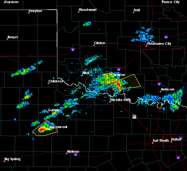 Radar Image for Severe Thunderstorms near Marlow, OK at 4/11/2020 2:48 PM CDT