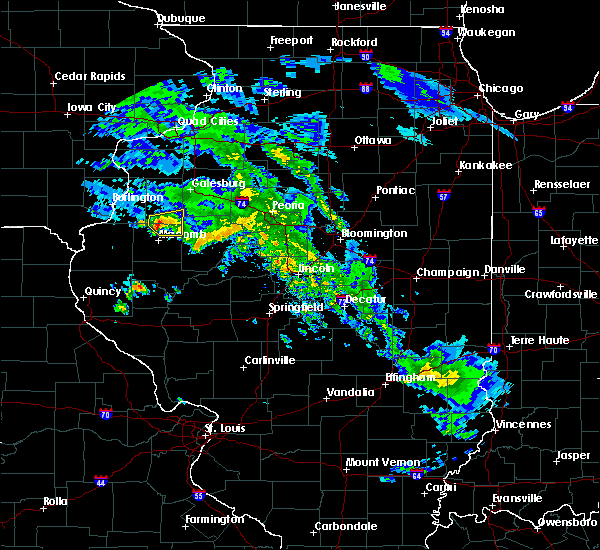 Radar Image for Severe Thunderstorms near London Mills, IL at 4/11/2020 6:08 PM CDT