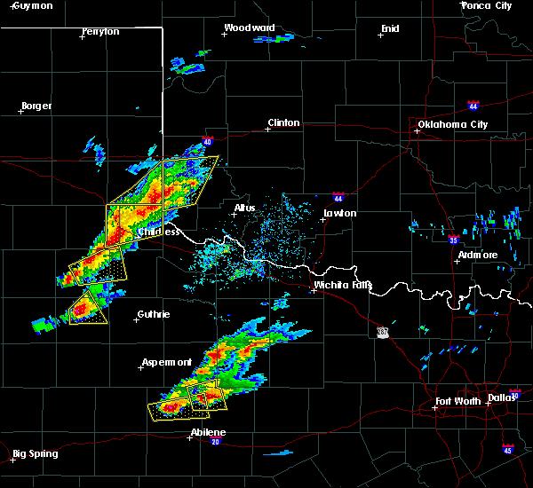Radar Image for Severe Thunderstorms near Carter, OK at 4/11/2020 6:09 PM CDT