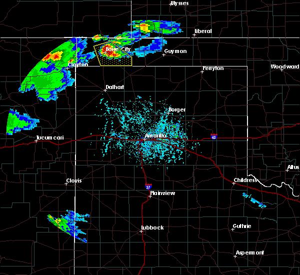 Radar Image for Severe Thunderstorms near Boise City, OK at 6/25/2015 6:49 PM CDT